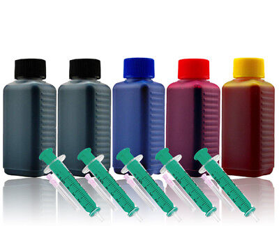 500ml Nachfüll Tinte Druckertinte für CANON Pixma TS6150 TS6151 TR7550 TR8550 - 500ml Tinte Magenta