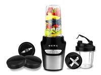 BERG 1000W Nutri Extractor Smart Personal Mini Blender Bullet