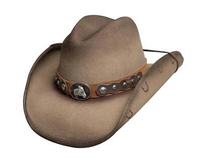 NEW Bullhide Hats 0709S Horse Country Collection Sunfisher Sand Cowboy Hat - Country Cowboy Hats