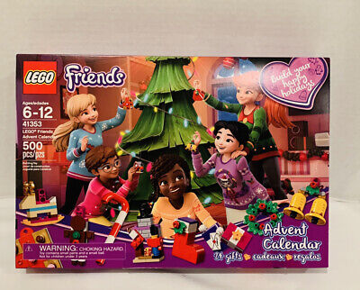 LEGO Friends Advent Calendar,41353 Building Blocks Ornaments,500 Pieces,Age 6-12