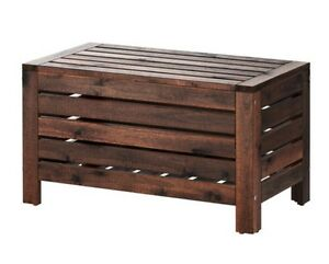 Wooden Outdoor Storage Bench Bondi Beach Eastern Suburbs Preview