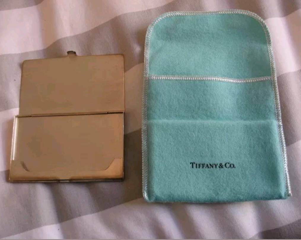 Tiffany & Co Sterling Silver Business Card Case   in Isle of Dogs ...