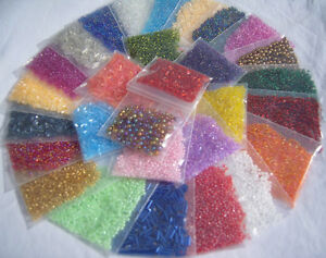 BEADS-30-000-30-DIFFERENT-COLOURS-GREAT-VALUE