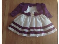 Girls Pretty Occasion Dress - age 3-6month