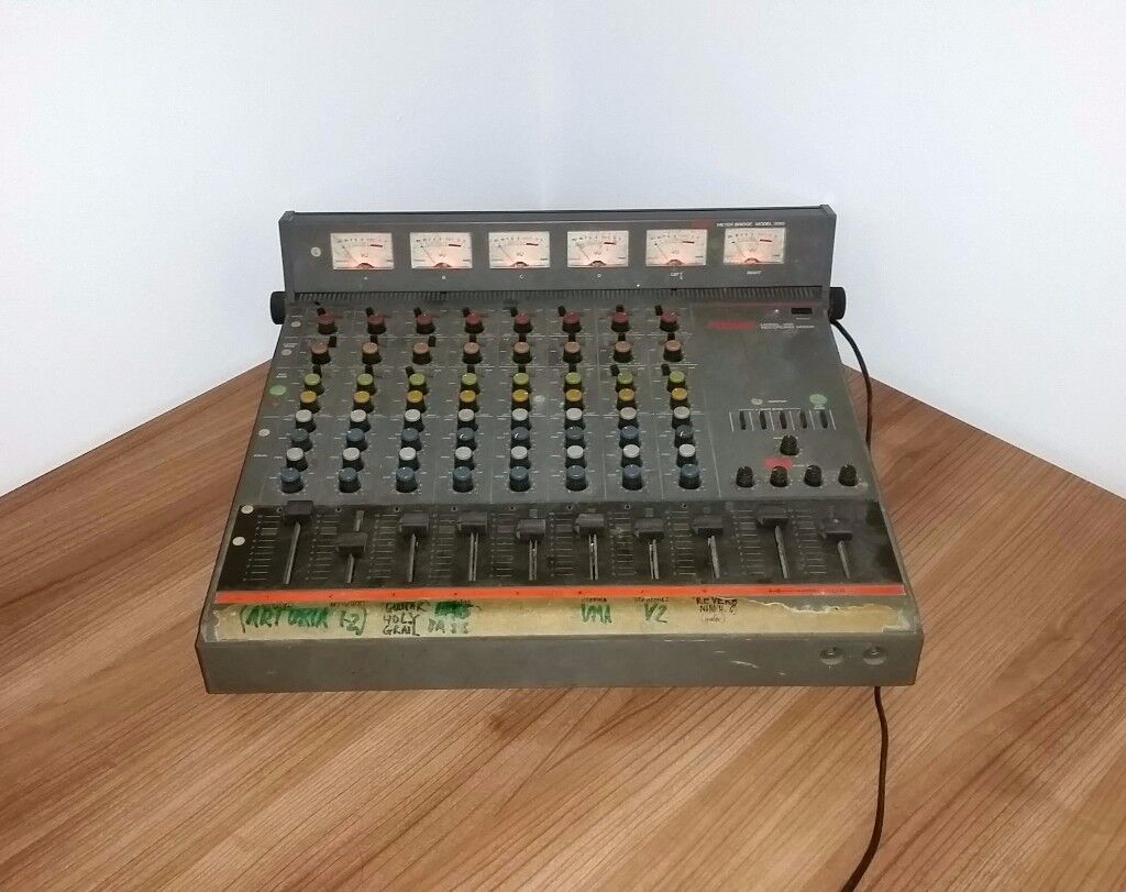Fostex Model 350 vintage analogue mixer with meter bridge in excellent working order