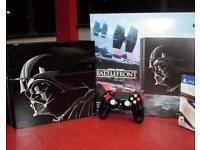 Limited Edition Star Wars PlayStation 4 with spare controller and 17 games including F1 2017