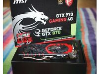 Nvidia GTX 970 4G MSI Gaming Twin Frozr Graphics Card