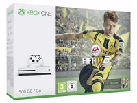 Xbox One S 500gb - Fifa 17 Bundle - Brand New