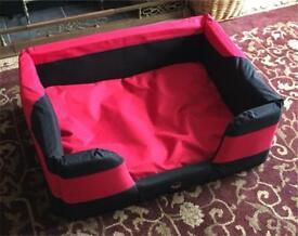 Dog bed 82cm x 64cm x 30cm medium large by ondoing