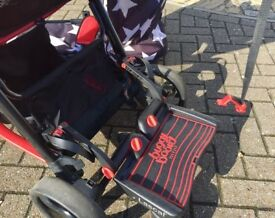 Cosatto all star buggy & carry cot & buggy board