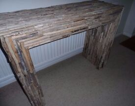 Beautiful driftwood table