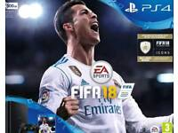 PS4 (500gb) Fifa 18 bundle and PS VR headset