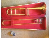Trombone made in USA in EXCELLENT CONDITION with Hard CASE