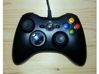 Used Official Xbox 360 and Windows Joypad + Box (Very good condition/Spares or Repairs)