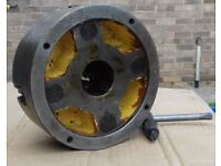 "Lathe Chuck 6"" 4 jaw independant heavy next to new in very good condition"
