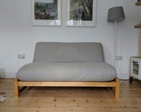 ❤️ Futon Company LINEAR Double Sofa Bed + Extra Cover. COST £739 + I CAN DELIVER