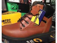 Safety Boots Brand New Boxed