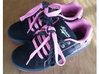 Mercury Black and Pink Trainers Size 5
