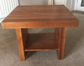 Side table -solid wood
