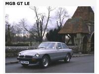 MGB GT Limited Edition