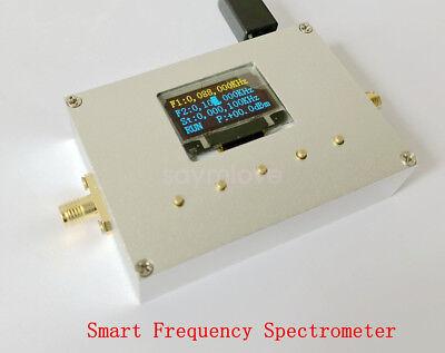 New 83.5-3000mhz Spectrum Analyzer W Rf Signal Source For Wifi Ble Lt Gsm Gprs