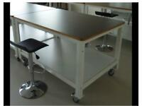 INDUSTRIAL CUSTOM MADE PATTERN CUTTING TABLE