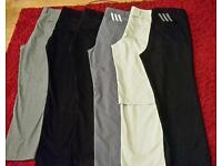 Golf trousers Adidas, Bunker Mentality 34-30