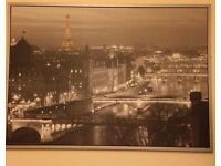 Large Paris wall picture