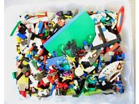 Large quantity of mixed Lego with instructions