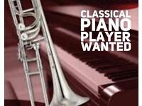 Classically trained piano player wanted