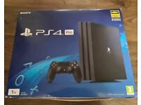 Boxed PlayStation Pro 1tb & 2 controllers