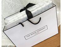 White Company Laurent Bedlinen Set - King sized NEW RRP £84