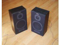 Sony 2-Way Hi-Fi Stereo Speaker System SS-A20, Black 2 x 35W - Floor Book Shelf