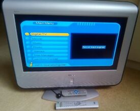 Sony analogue TV with Digital Receiver + remote controls
