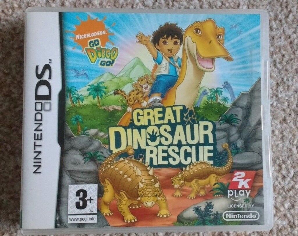 Nintendo DS: Go Diego Go: Great Dinosaur Rescue Game