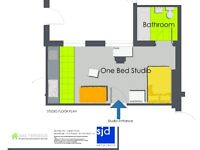 Student Studio Apartment Available September '18. BRAND NEW. MIDDLESBROUGH