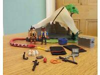 Playmobil Explorer tent