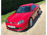 MG TF LE500 2 door Covertible - 36500 miles. Limited Edition 144