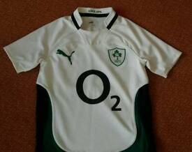 Puma O2 Irish Rugby Shirt size 32/34 in excellent condition