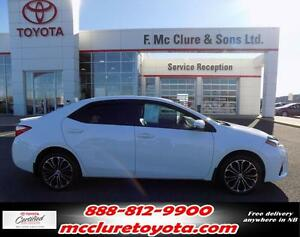 2014 Toyota Corolla S Tech pack Leather and Nav