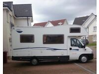 EXCELLENT FIAT 5/6 BERTH MOTORHOME