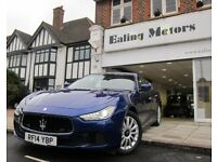 2014 MASERATI GHIBLI,AUTO,DIESEL,FULL OPTIONS,SAT NAV,LEATHER,KEYLESS ENTRY,WIFI,BLUETOOTH,WARRANTY