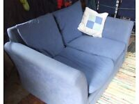 Our Comfy Small Blue Settee