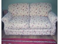 Upholstered Two Seater Sofa