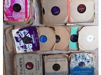 78 Records for sale: 1940s + 1950s. Big Band, Frank Sinatra etc...