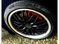 "18"" alloys / wheels with tyres"