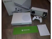 XBOX ONE S 1TB Console + Xbox Live Boxed Like New