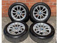 16'' GENUINE BMW 1 SERIES F20 E88 M ALLOY WHEELS TYRES ALLOYS 5X120