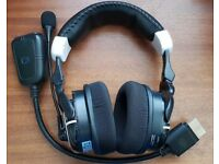 Datel Game Talk Pro-2 Wireless Xbox 360 Headset (Working but Faulty Mic)