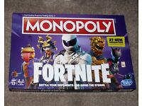Monopoly Fortnite Board Game with 27 New Characters and updated board spaces